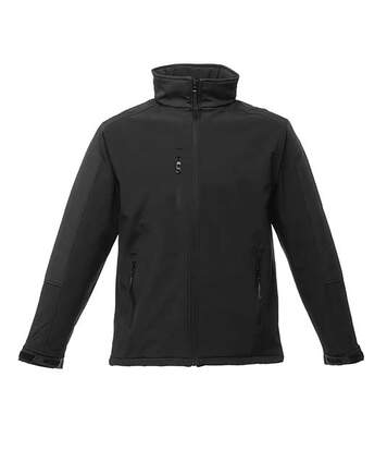 Regatta Mens Hydroforce 3-layer Membrane Waterproof Breathable Softshell Jackets (Seal Grey/Black) - UTRG1629