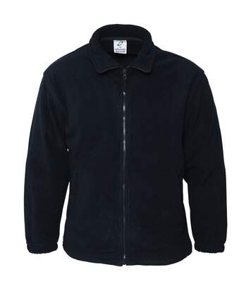Absolute Apparel Heritage Full Zip Fleece (Navy) - UTAB128