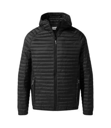 Craghoppers Mens VentaLite Hooded Jacket (Black) - UTCG1007