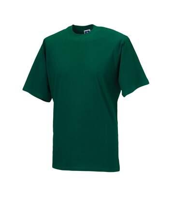 Jerzees Colours Mens Classic Short Sleeve T-Shirt (Bottle Green) - UTBC577