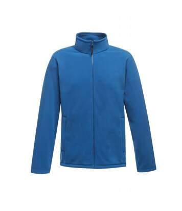 Regatta Mens Plain Micro Fleece Full Zip Jacket (Layer Lite) (Oxford Blue) - UTRG1551