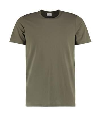 Kustom Kit - T-Shirt - Homme (Kaki) - UTBC3729