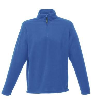 Regatta Mens 170 Series Anti-pill Zip Neck Micro Fleece Jacket (Seal Grey) - UTRW1207