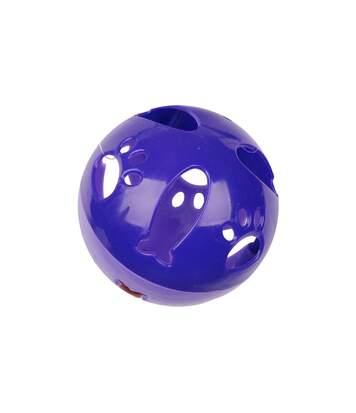 Jouet pour chat - Balle sonore - Violet
