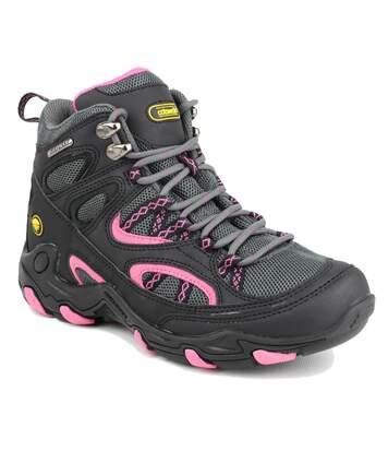 Cotswold Aggshill - Chaussures Montantes De Randonnée - Femme (Noir/Fuchsia) (36 EU) - UTFS3167