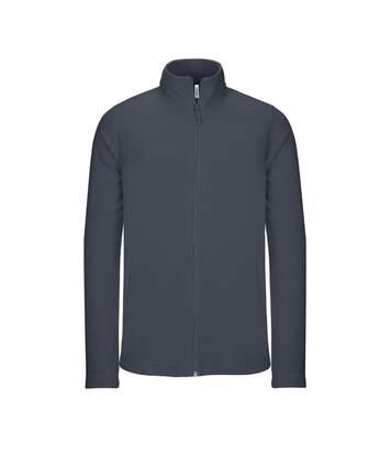 Kariban Mens Full Zip Microfleece Jacket (Convoy Grey) - UTRW5625
