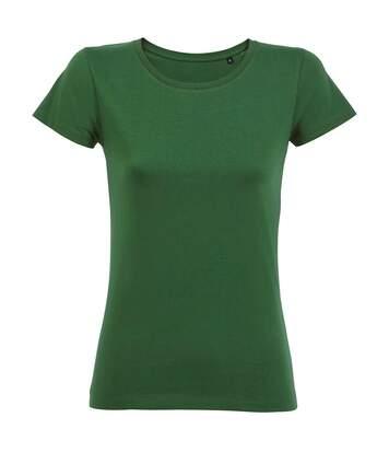 Sols - T-Shirt Bio Manches Courtes Milo - Femme (Vert bouteille) - UTPC3993