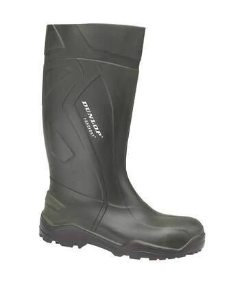 Dunlop Purofort+ D760933 Wellington / Mens Boots (Green) - UTFS1491