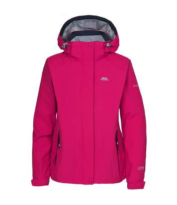 Trespass Womens/Ladies Florissant Hooded Waterproof Jacket (Cerise) - UTTP170