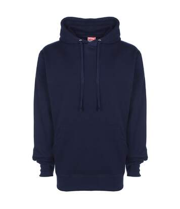 FDM Unisex Plain Original Hooded Sweatshirt / Hoodie (300 GSM) (Navy Blue) - UTBC2024