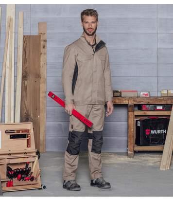 Pantalon de travail Cetus Würth MODYF beige/anthracite