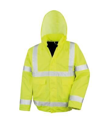 Result Core High-Viz Winter Blouson Jacket (Waterproof & Windproof) (HI-Viz Yellow) - UTRW3345