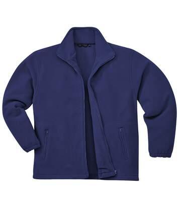 Portwest Mens Argyll Heavy Fleece Anti-Pill Jacket (F400) (Navy) - UTRW1026