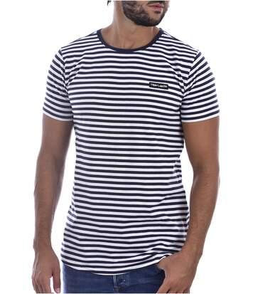 Tee shirt coton marinière  -  Homme - Teddy smith