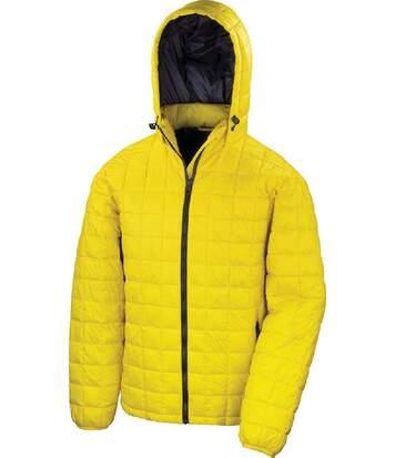 Doudoune à capuche homme - R401X - jaune