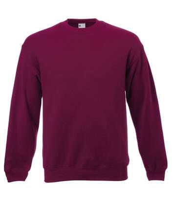 Sweat-Shirt En Jersey - Homme (Rouge sang) - UTBC3903