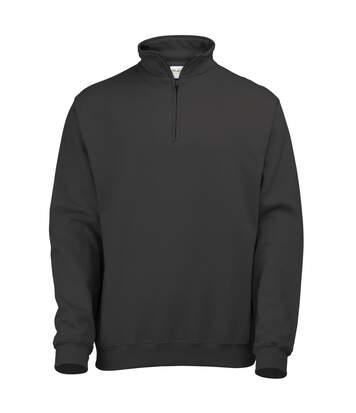Awdis - Sweatshirt À Fermeture Zippée - Homme (Rouge feu) - UTRW177