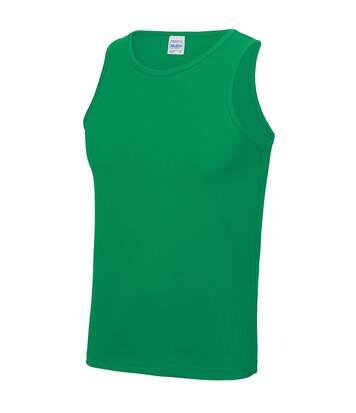 Just Cool Mens Sports Gym Plain Tank / Vest Top (Purple) - UTRW687