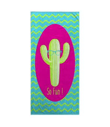 Drap de plage Cactus