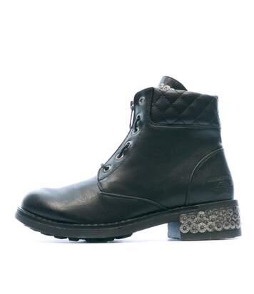 Boots Noir Femme Redskins Tamara