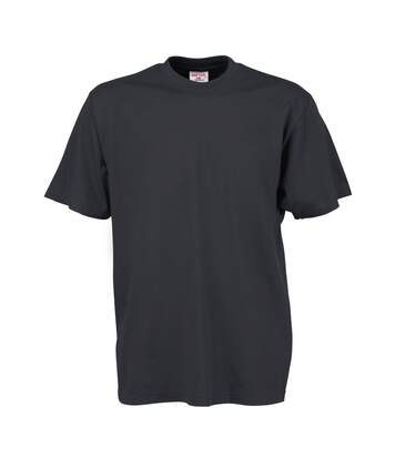 Tee Jays Mens Short Sleeve T-Shirt (Dark Grey) - UTBC3325