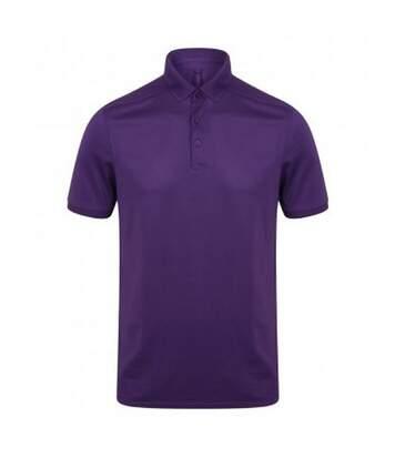 Henbury - T-Shirt Polo - Hommes (Violet) - UTPC2951