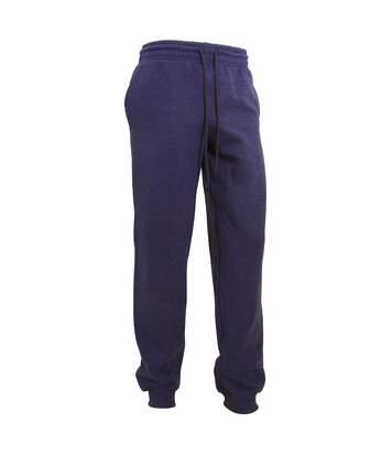 Gildan Mens Heavy Blend Cuffed Jogging Bottoms/Sweatpants (Black) - UTBC3486
