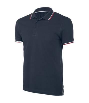Kariban Mens Contrast Short Sleeve Polo Shirt (Navy) - UTRW4217