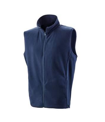 Result Core Mens Micro Fleece Gilet (Navy) - UTPC3013