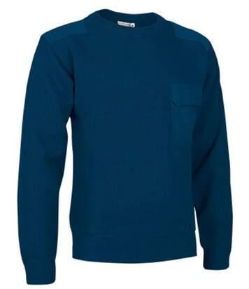 Pull épais - Homme - REF COMANDO - bleu marine