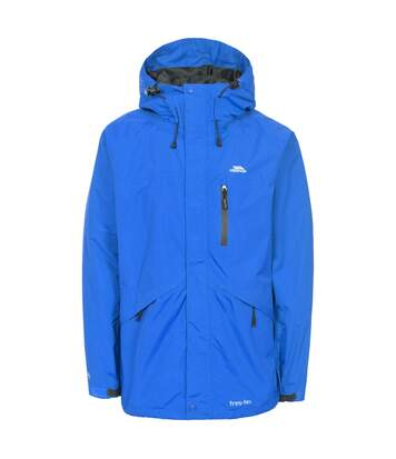 Trespass Mens Corvo Hooded Full Zip Waterproof Jacket/Coat (Blue) - UTTP296