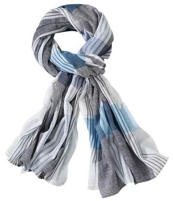 Tulband sjaal met kreukeffect