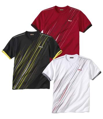 3er-Pack T-Shirts Summer Sport