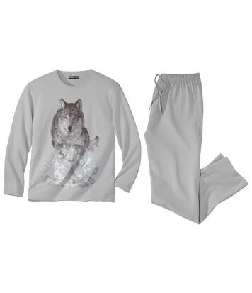 Men's Grey Wolf Pyjamas