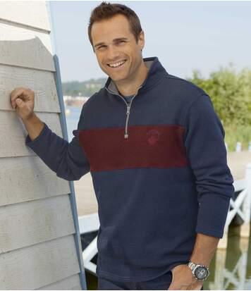 Set van 2 tweekleurige Canada sweaters
