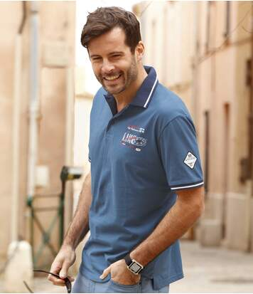 2er-Pack Polo-Shirts Skipper