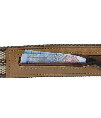 Opasek Travel Secure se skrytou kapsou na peníze