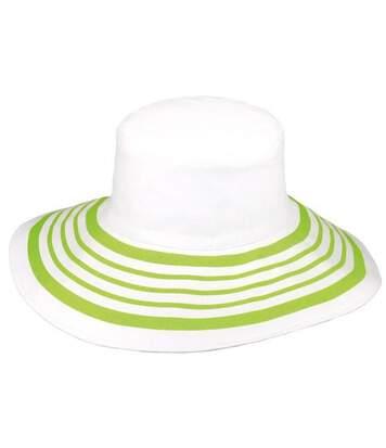Chapeau capeline COQUELICOT