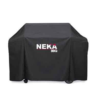Housse de Protection Barbecue 125cm Noir