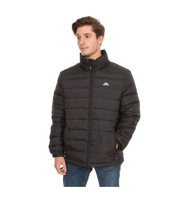 Trespass Mens Retreat Full Zip Up Down Jacket (Black) - UTTP3092