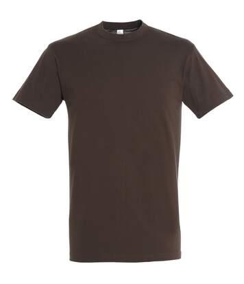 SOLS Mens Regent Short Sleeve T-Shirt (Chocolate) - UTPC288