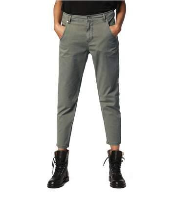Pantalon Cargo Taille Haute Stretch  -  Diesel