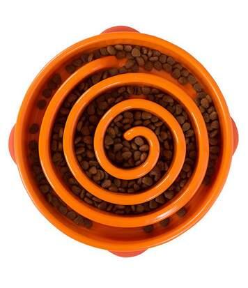 Outward Hound - Gamelle Géométrique - Chien (Orange) (Mini) - UTVP468