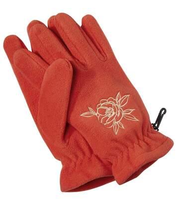 Fleecové rukavice pro dotykové displeje