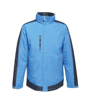 Regatta Mens Contrast Full Zip Jacket (Gentian Blue/Black Blue) - UTRG3743