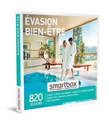 SMARTBOX - Évasion bien-être - Coffret Cadeau Séjour