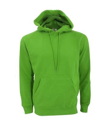 SG Mens Plain Hooded Sweatshirt Top / Hoodie (Green) - UTBC1072