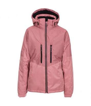 Trespass Womens/Ladies Limelight Waterproof Ski Jacket (Dusty Rose) - UTTP4910