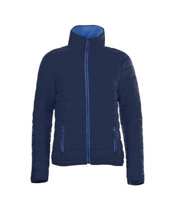 SOLS Womens/Ladies Ride Padded Water Repellent Jacket (Navy) - UTPC2155