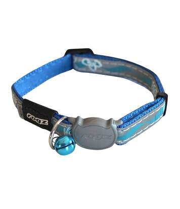 Rogz Nightcat - Collier Pour Chat (Bleu) (Taille unique) - UTTR319